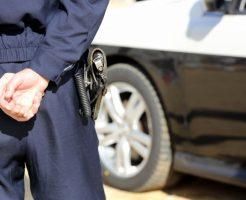 警察官の拳銃