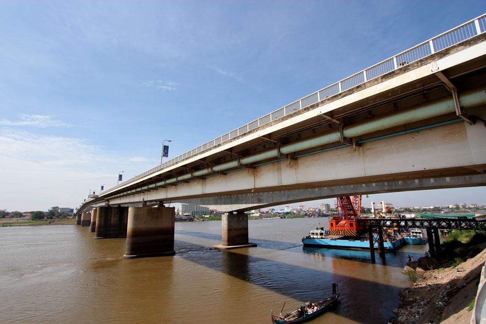日本橋と中国橋!カンボジア支援で日本友好橋の隣に中国が第2橋を建設!