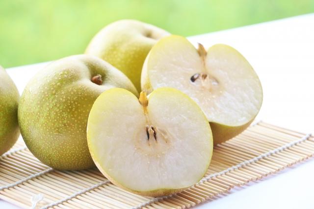 ナシ【梨】|プロテアーゼ(タンパク質分解酵素)が消化を促進