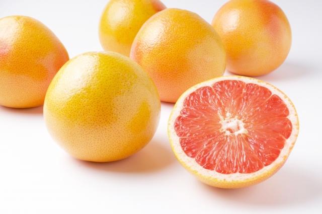 グレープフルーツ|体内活性酸素除去力が強い赤肉種(ルビー)