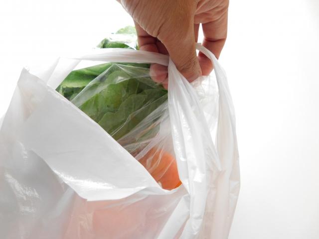 スーパーのレジ袋