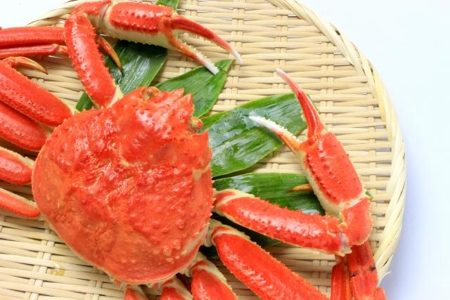 カニ【蟹】|低脂肪で高タンパク。意外に低カロリーなダイエット食