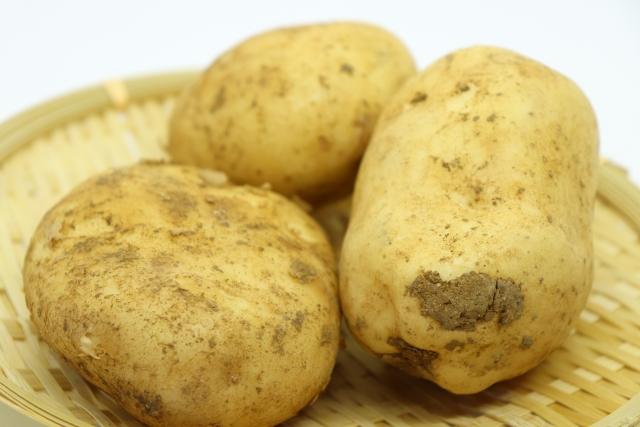 ジャガイモ【馬鈴薯】|強い抗酸化作用を持つビタミンCを多く含む