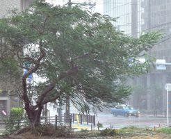 台風24号沖縄